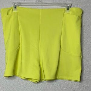 Lime Green shorts sz 3x